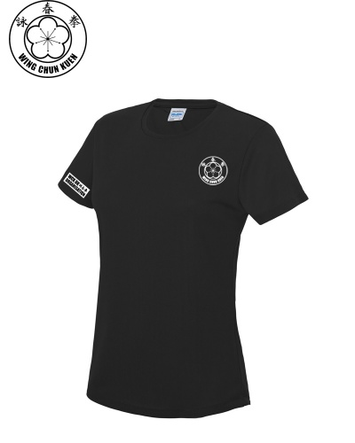 WCKUK Womens Black Training Shirt